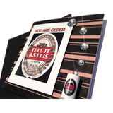 MisFitz Stella Artois 'Tell it as it is' Greeting Card