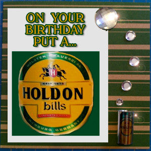 MisFitz Holsten Pils Birthday Greeting Card