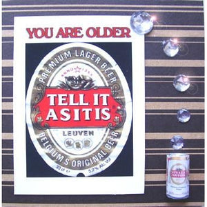 Stella Artois Tell it as it is handmade designer greetings