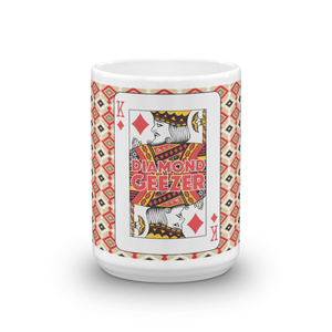 Diamond Geezer King of Diamonds Coffee Mug