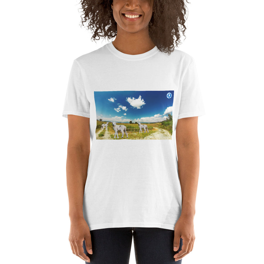 Augmented Reality Easter Egg Hunt Game Short-Sleeve Unisex T-Shirt
