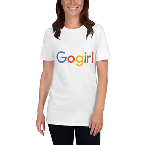 Google 'Gogirl' Short-Sleeve Unisex T-Shirt