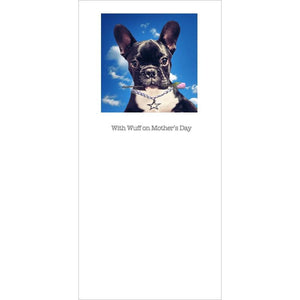 posh paws french bulldog puppy mothers day card