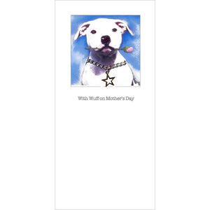 Posh Pawz All Breeds Puppy with Star Tag and Rose Mother's Day Card