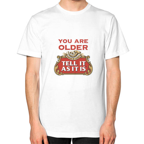 Unisex T-Shirt - Stella Artois - Tell It As It Is - Personalisable with a name!