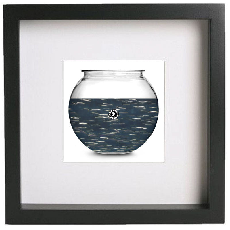 Augmented Reality Wall Art Framed Print - Aquarium