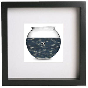 Augmented Reality Aquarium large framed wall art print