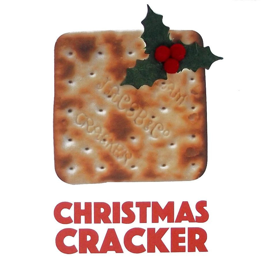 Christmas Cracker Square Greeting Card