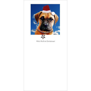 Posh Pawz Christmas Puppies Greeting Card