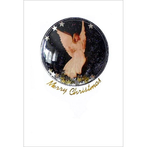 Shakers 'n' Movers Christmas Angel Greeting Card
