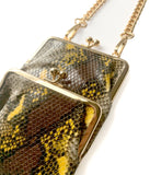 Coin Purse Duo | Vintage Snake Patina