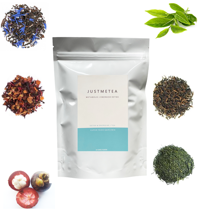 Energy & Metabolism Tea - Brindle Berry Garcinia Teatox™ Detox Tea (Non-Laxative)