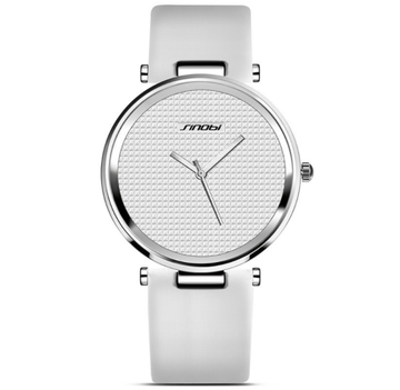 Sanctuary Watches - SINOBI - The Casual Minimalist (White & Silver) 2