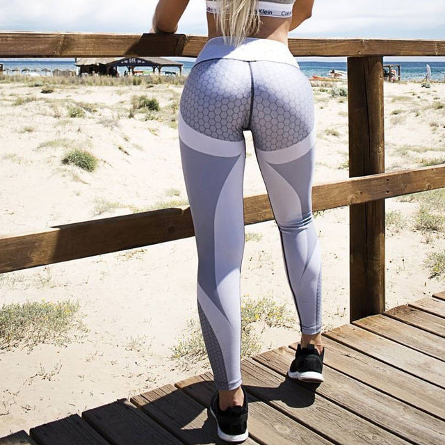 3D Print Push Up Slimming leggings