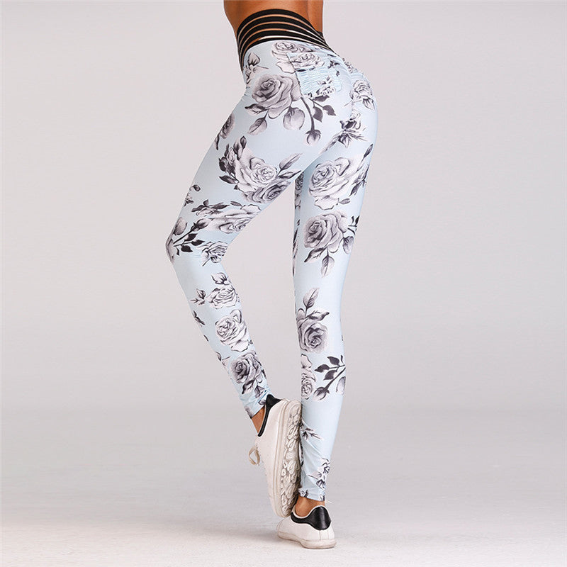 Push Up Elastic  Leggings Fitness
