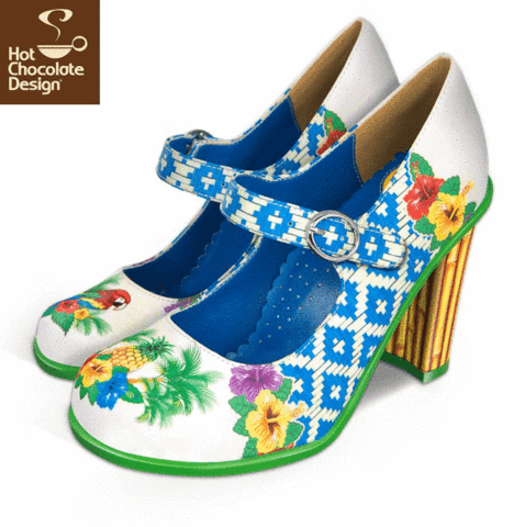 Funky Footwear! by Hot Chocolate Design