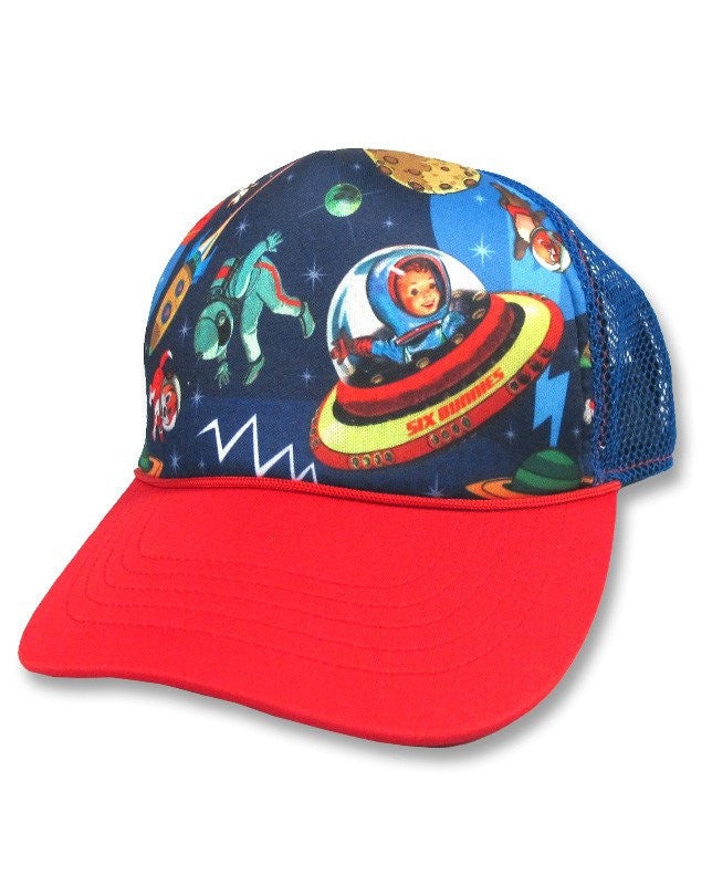Gravity Space Kids Trucker Cap HatKids wearLiquor Brand - Cherri Lane 50's Vintage Inspired Pinup Rockabilly & Alternative Clothing Australia