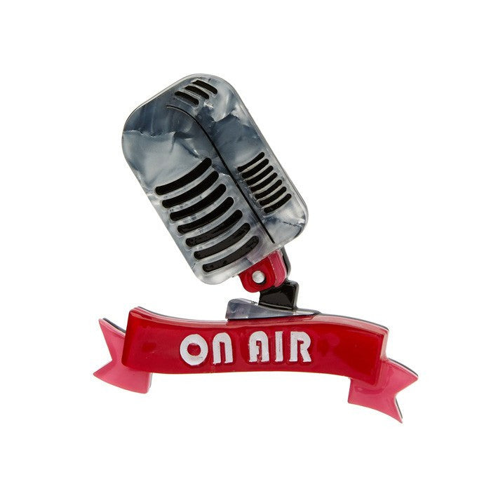 On Air Brooch Erstwilder Little Bit Country Release 2017broochErstwilder - Cherri Lane 50's Vintage Inspired Pinup Rockabilly & Alternative Clothing Australia