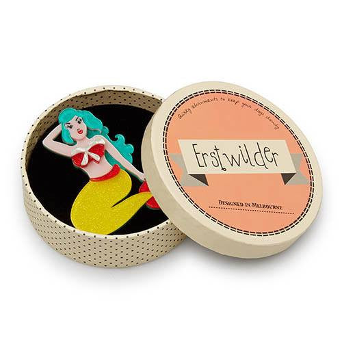 Adella the Elder Brooch Erstwilder Autumn 17broochErstwilder - Cherri Lane 50's Vintage Inspired Pinup Rockabilly & Alternative Clothing Australia