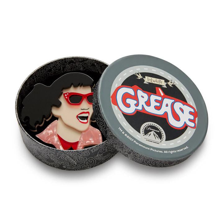 Jan the Joker Brooch Licenced Grease 2017