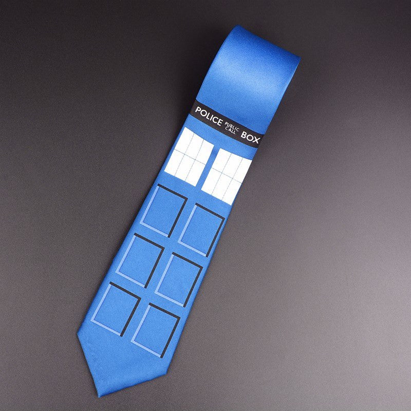 Doctor Who Neck Tie