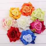 Soft Petal Hair Rose 12cm Blueberry