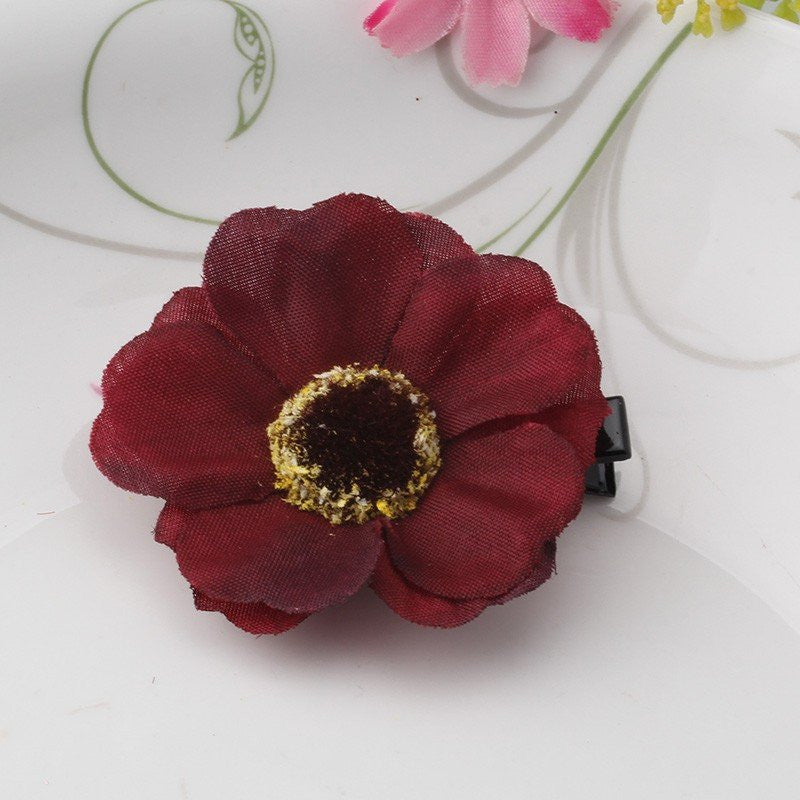 Cherry Blossom Hair Flower 3.8cm Various Colours