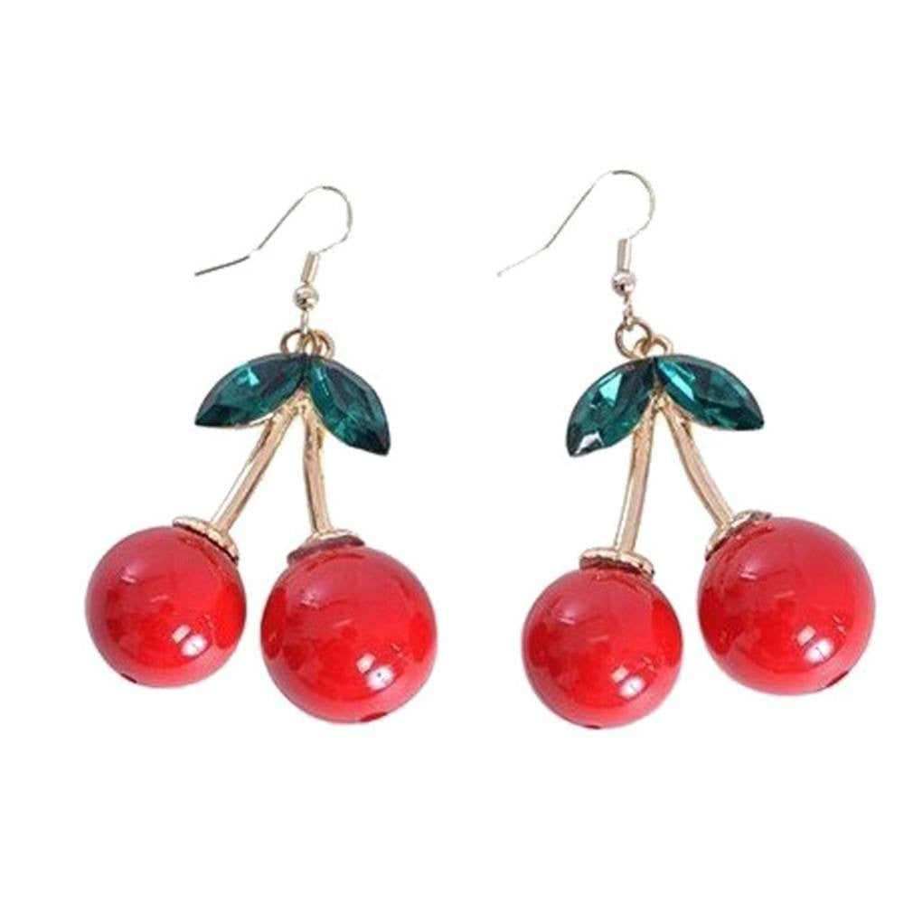 Cherry Drop EarringsEarringsCherri Lane - Cherri Lane 50's Vintage Inspired Pinup Rockabilly & Alternative Clothing Australia