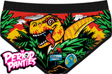 Period Panties Jurassic Period BriefUnderwearPeriod Panties - Cherri Lane 50's Vintage Inspired Pinup Rockabilly & Alternative Clothing Australia