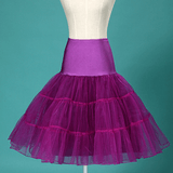 Multi Layer Organza Petticoat PurplePetticoatCherri Lane - Cherri Lane 50's Vintage Inspired Pinup Rockabilly & Alternative Clothing Australia