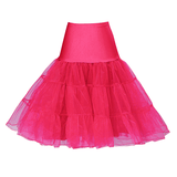 Multi Layer Organza Petticoat Hot PinkPetticoatCherri Lane - Cherri Lane 50's Vintage Inspired Pinup Rockabilly & Alternative Clothing Australia