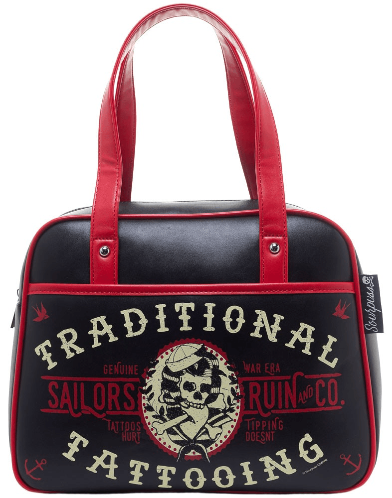Sourpuss Sailor's Ruin Bowler Bag