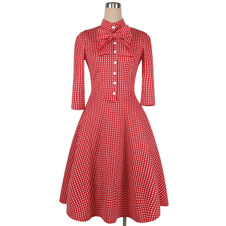 Barn Dance Gingham Swing Dress RedDressCherri Lane - Cherri Lane 50's Vintage Inspired Pinup Rockabilly & Alternative Clothing Australia