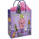 Crazy Cat Lady Gift BagGiftwareArchie - Cherri Lane 50's Vintage Inspired Pinup Rockabilly & Alternative Clothing Australia