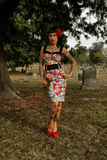 Death Darling Dress Dress by switchblade StilettoDressSwitchblade Stiletto - Cherri Lane 50's Vintage Inspired Pinup Rockabilly & Alternative Clothing Australia