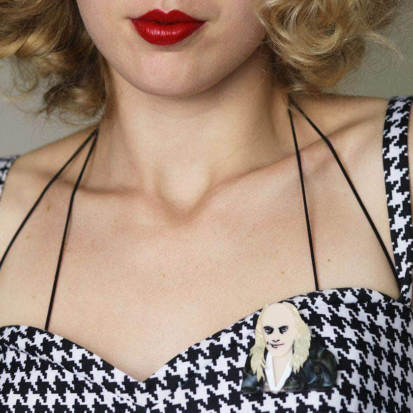 Riotous Riff Raff Brooch Rocky Horror Picture Show