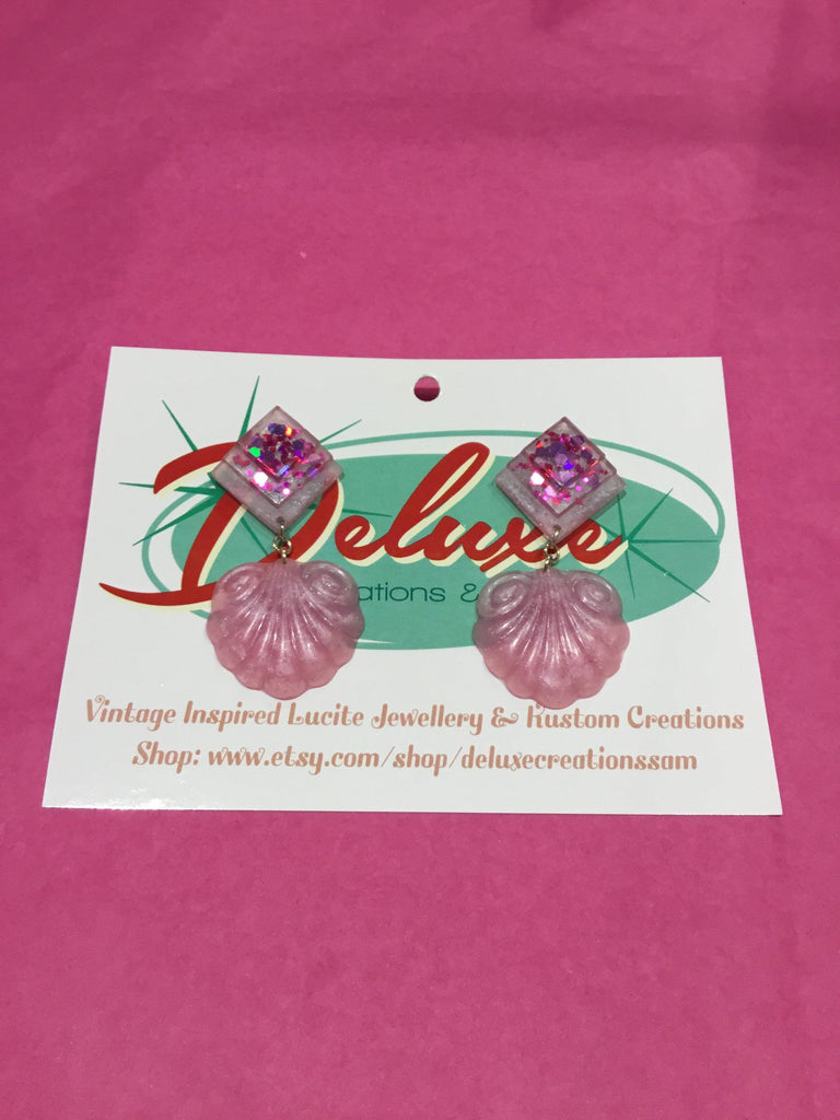 Decadent Delight Pink Earrings