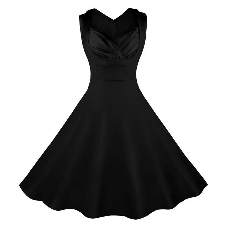 Black Sweetheart Swing DressDressCherri Lane - Cherri Lane 50's Vintage Inspired Pinup Rockabilly & Alternative Clothing Australia