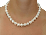 Imitation White Pearl Necklace