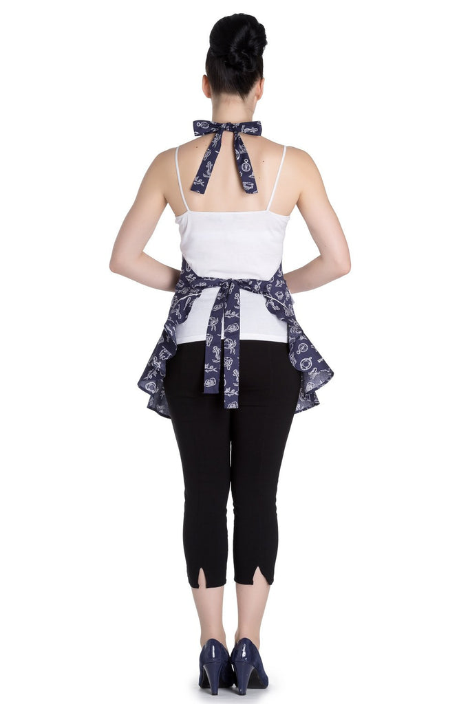Marin ApronApronsHell Bunny - Cherri Lane 50's Vintage Inspired Pinup Rockabilly & Alternative Clothing Australia