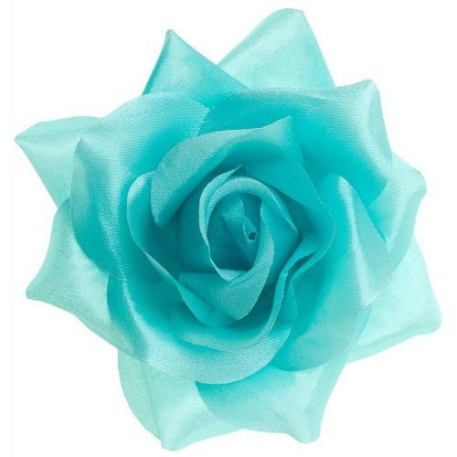 Sourpuss Rose Hair clip Blue Rose