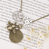 Sweet Time Steampunk Necklace