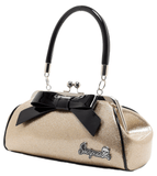 Floozy Purse Glitter Gold