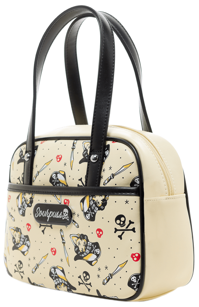 Surly Pirates Mini Bowler BaghandbagsSourpuss - Cherri Lane 50's Vintage Inspired Pinup Rockabilly & Alternative Clothing Australia