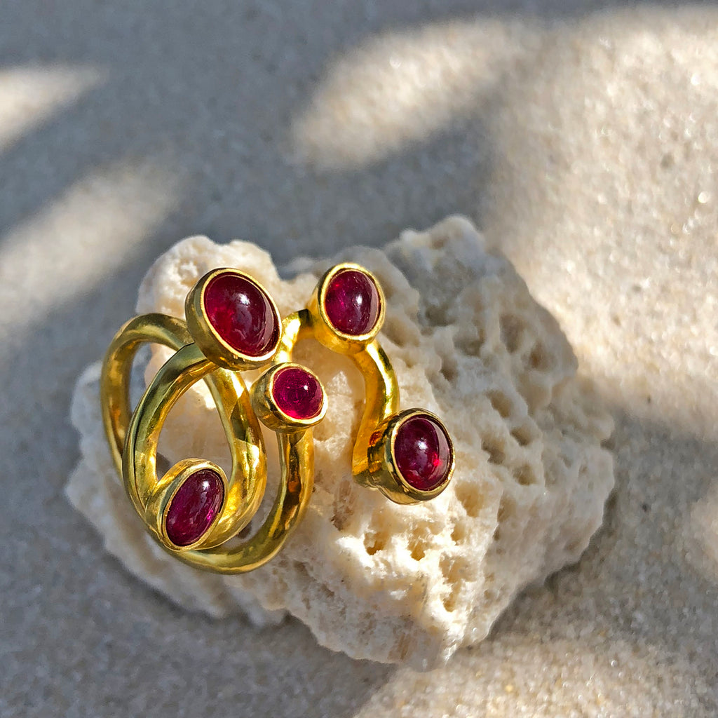The Philippe Spencer Ruby Statement Ring