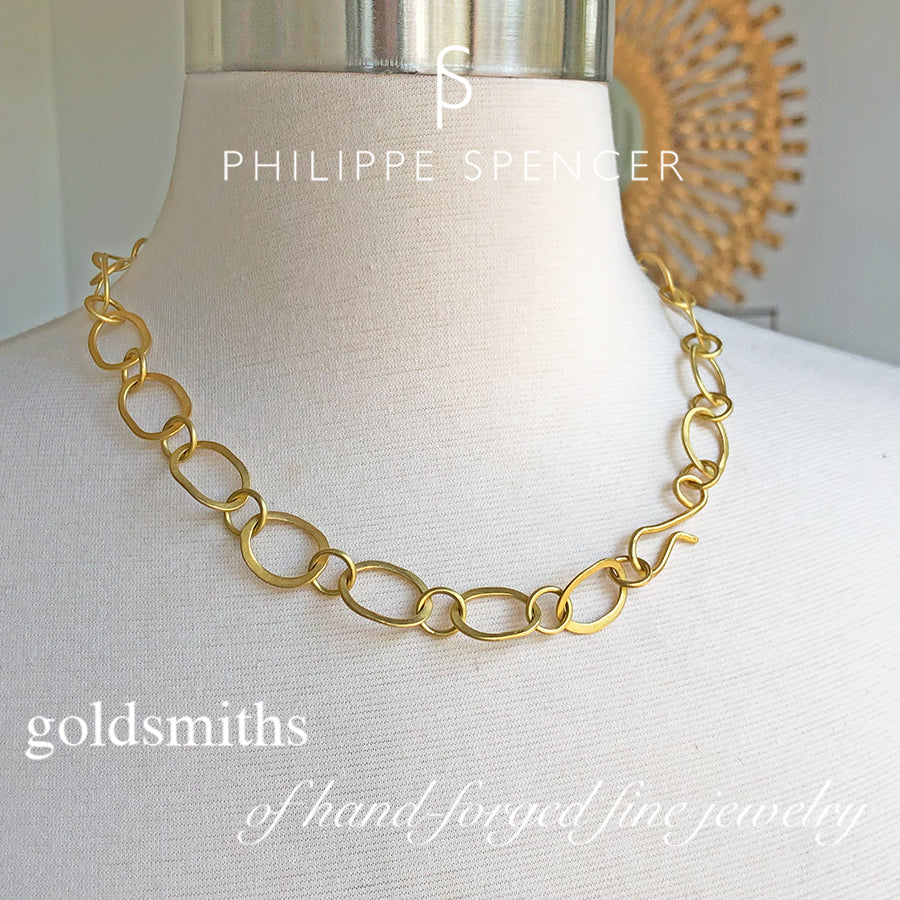 The Philippe Spencer Signature Link Necklace