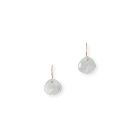 The Grace Signature Earrings in Moonstone