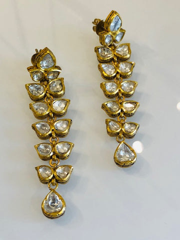 The Fit For A Queen Diamond Earrings