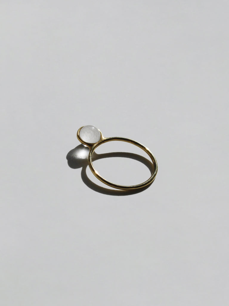 The Petite Clear Crystal Ring