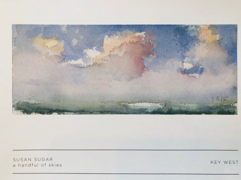 A Handful of Skies, A book of watercolors by Susan Sugar